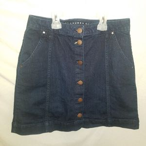 LC Lauren Conrad Denim Skirt